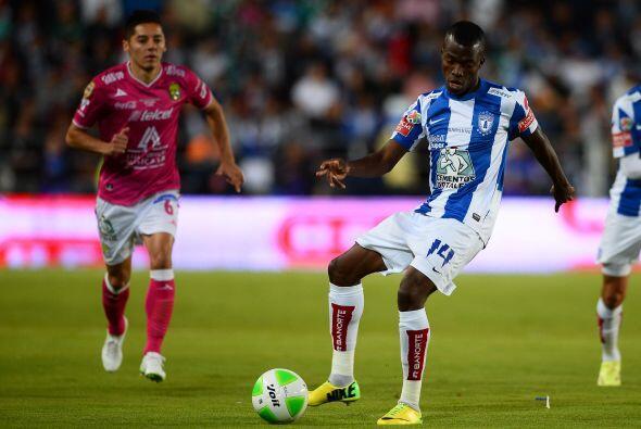 El ecuatoriano Enner Valencia, del Pachuca, fue el líder de goleo...