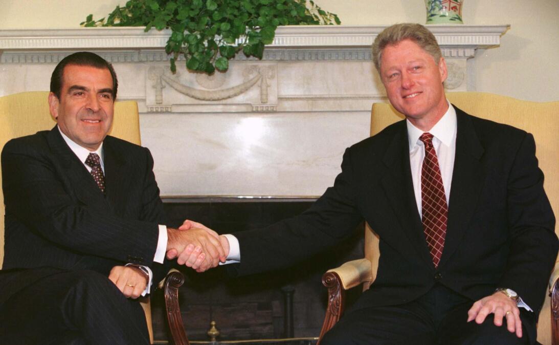 Clinton y Frei