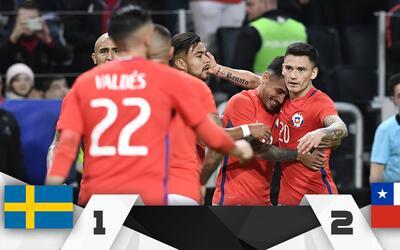 El joven Marco Bolados debutó con la roja con un tanto ante los s...