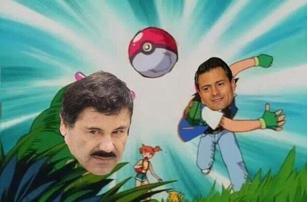 El Chapo Guzmán fue capturado una vez más en México y la lluvia de imáge...