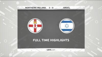Irlanda del Norte 3-0 Israel - GOLES Y RESUMEN - Partido amistoso