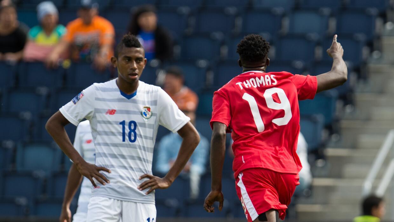 Canada consiguió su primer triunfo ante Panamá.