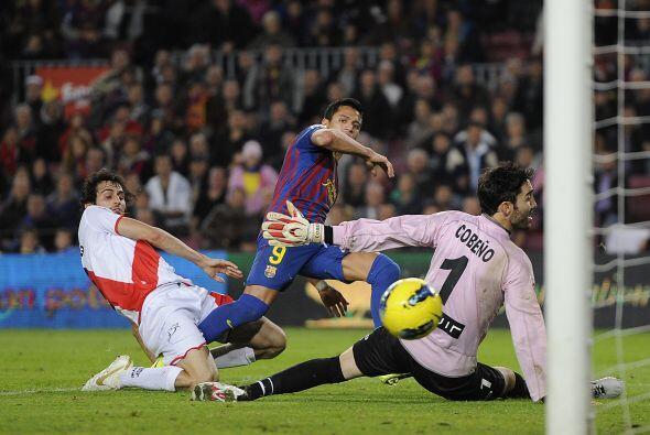 Tan sólo 2 minutos más tarde llegó el turno de David Villa.