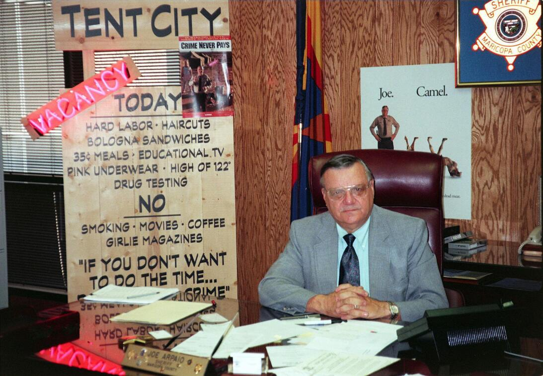 In photos: a journey through Joe Arpaio's 50-year career in law enforcem...