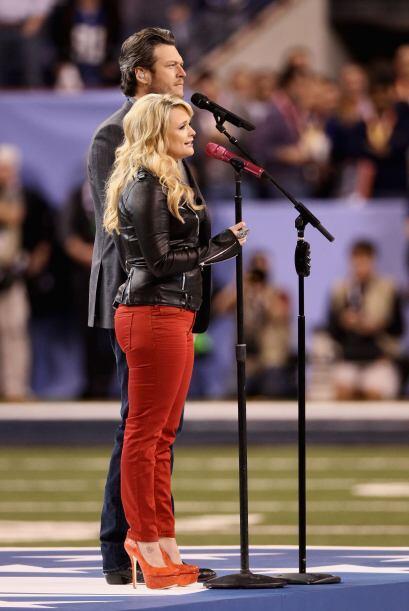 Miranda se entregó por completo a su interpretación del tema 'America Th...