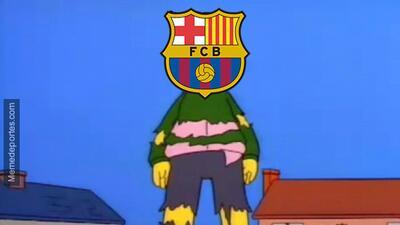 No hubo remontada del Barça, pero sí habrá risas con los memes de la jornada de Champions