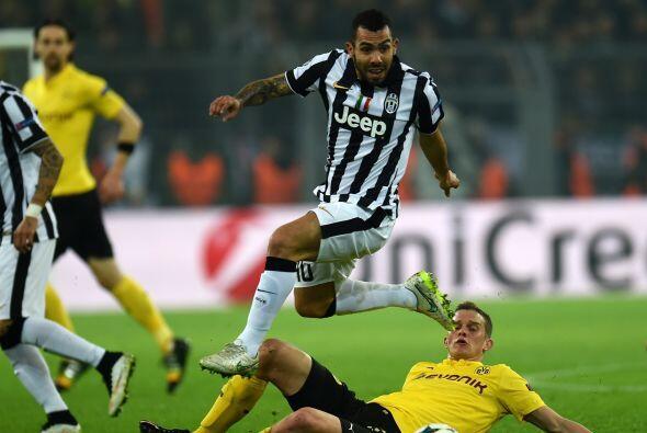 La máxima figura de la Juventus claramente es Carlos Tévez. Este veteran...