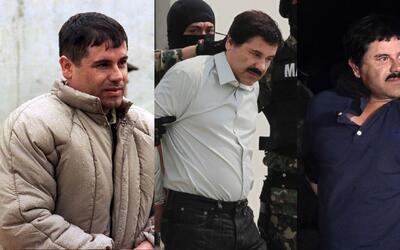 """Las tres caídas de """"El Chapo"""""""