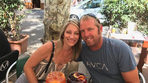 Jared Tucker y su esposa, Heidi Nunes, celebraban su luna de miel en Eur...