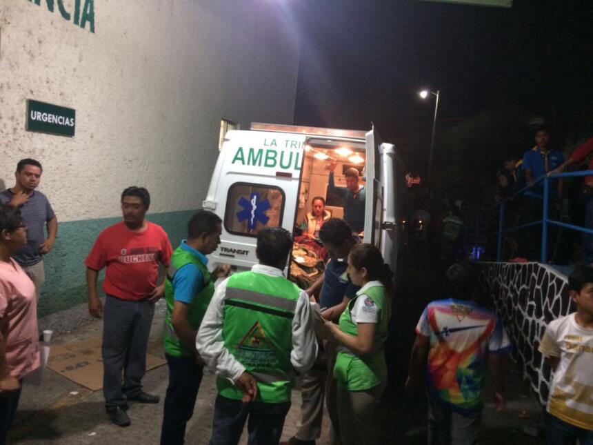 17 muertos y 31 heridos al despeñarse un autobús en Chiapas, sur de Méxi...