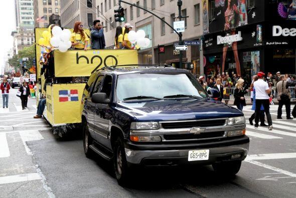 Desfile de El Dia de la Hispanidad