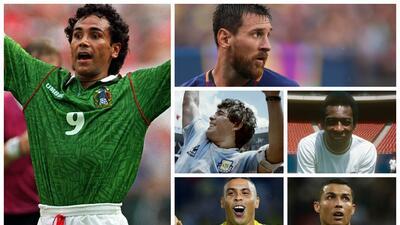 Hugo Sánchez, entre los 100 mejores futbolistas de la historia para FourFourTwo