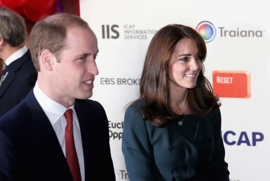 Los Duques de Cambridge en recaudación de fondos.