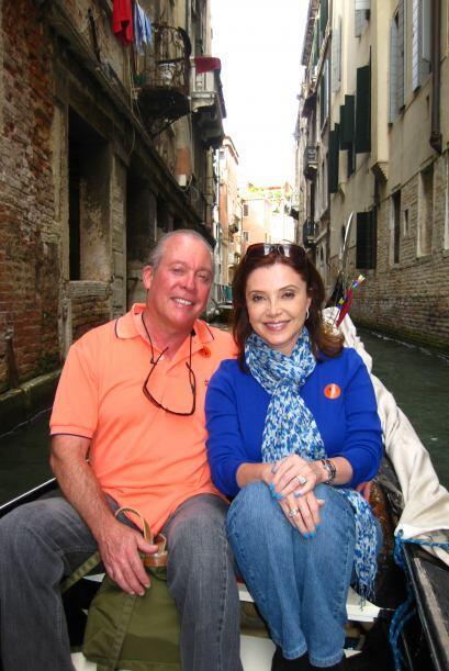 Imágenes de la visita de la periodista Lourdes del Río a V...