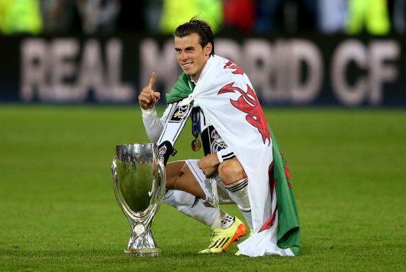 El público aplaudió de forma especial a Gareth Bale, el galés se quedó c...