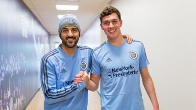 'El Guaje' Villa y Joe Scally, el nuevo canterano de NYCFC.