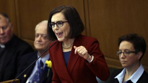 Kate Brown, gobernadora de Oregon