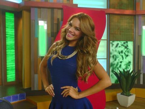 Este miércoles la guapa modelo y actriz puertorriqueña, Zu...