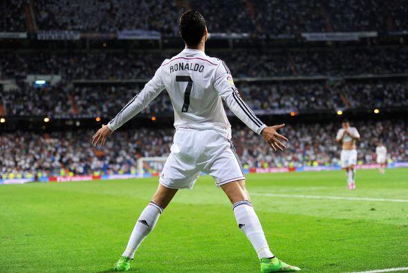 CRISTIANO RONALDO  - REAL MADRID  Por último aparece el Manchester City...