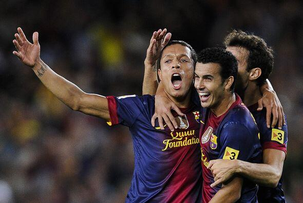 Defensa, Adriano: Este brasileño tuvo una gran actuación con el Barcelon...
