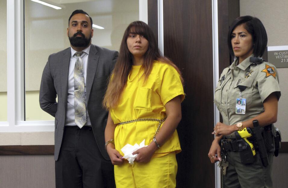 Obdulia Sánchez, acusada de haber causado la muerte de su hermana menor,...