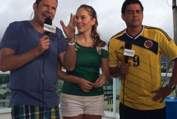 Alan Tacher y Orlando Segura estuvieron acompañados de la joven venezola...