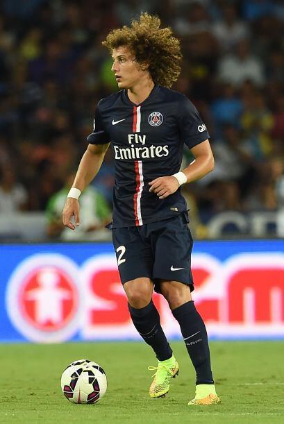 David Luiz le costó 50 millones de euros al París Saint-Germain quien se...