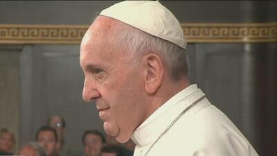 Frases claves del Papa Francisco en el Congreso