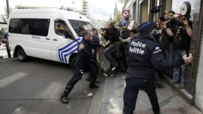 Las autoridades belgas han activado un plan de crisis en Anderlecht, uno...