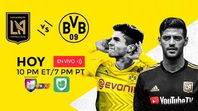 LAFC jugará su primer partido internacional ante Borussia Dortmund