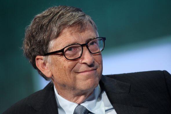 1. Bill Gates, el multimillonario cofundador de Microsoft fue el mejor u...