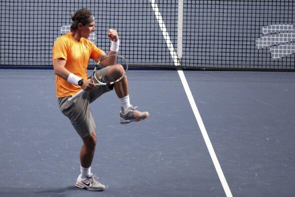 A Rafael Nadal le supo a gloria la victoria pues fue su revancha.