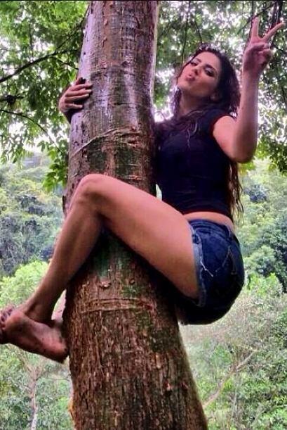 Michelle tiene un alma rebelde, y ama a la naturaleza.