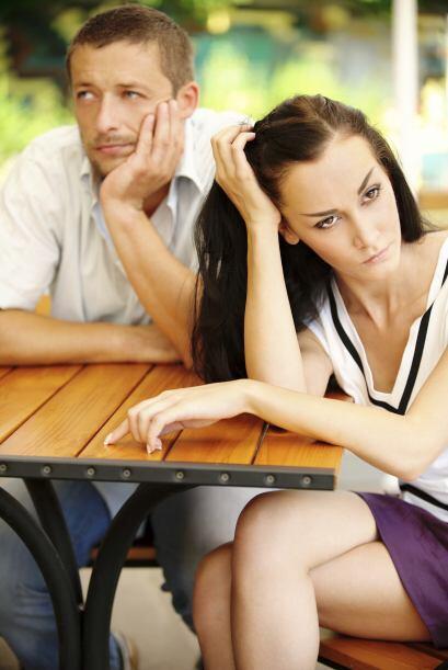 Dejar de sorprenderse: Las parejas tristes, aunque se amen, dejan que la...