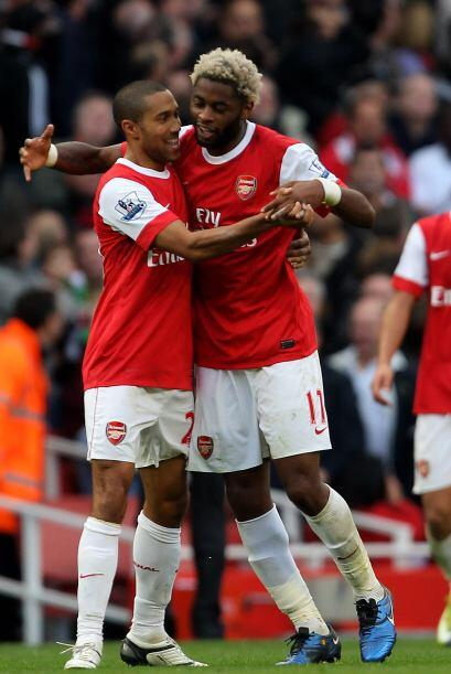 El Arsenal tuvo que luchar hasta último momento para llevarse el triunfo...