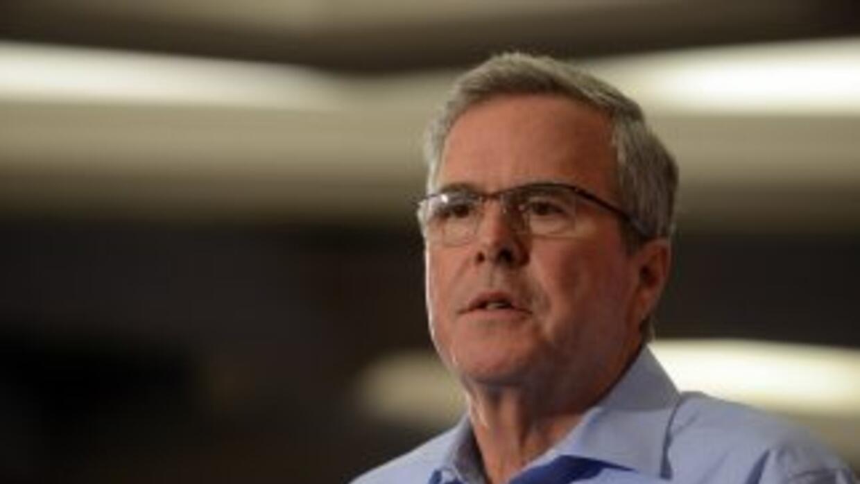 Jeb Bush, exgobernador de la Florida.