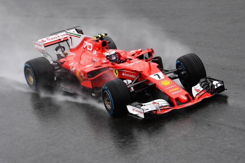7. Kimmi Raikkonen (Ferrari) - Mejor tiempo: 1:37.031 / 30 vueltas