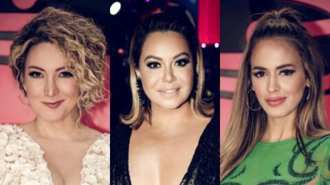 Erika Ender, Chiquis Rivera, Shannon de Lima