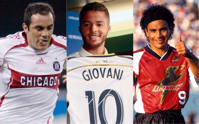 Jonathan dos Santos y otros jugadores del 'Tri' que pasaron por la MLS M...