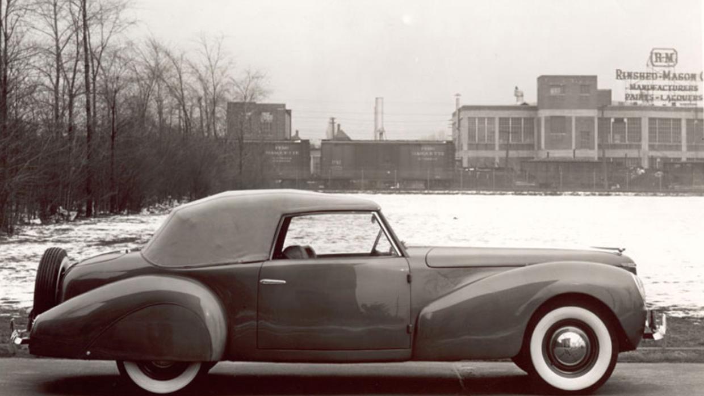 Prototipo Special Convertible Coupe hecho para el uso personal de Edsel...