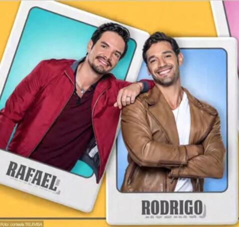 Rafael y Rodrigo Papá a toda madre