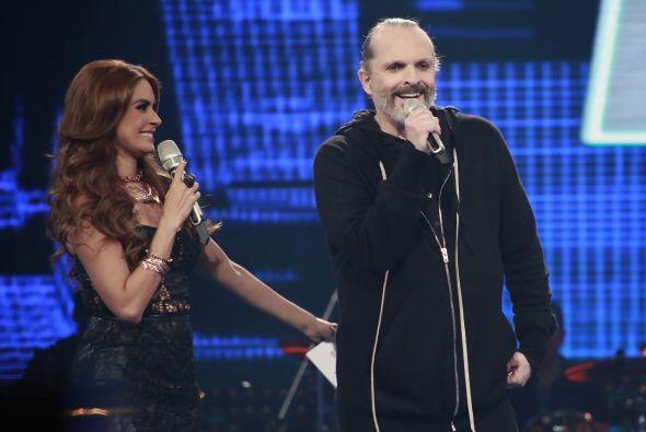 Gali le pidió a Miguel Bosé elegir al concursante con quién cantaría.