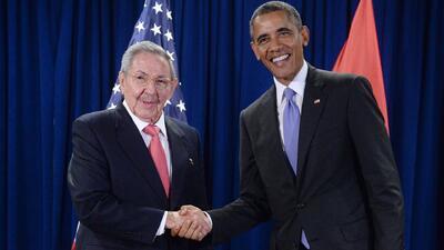 Barack Obama y Raúl Castro forjan lazos en materia política