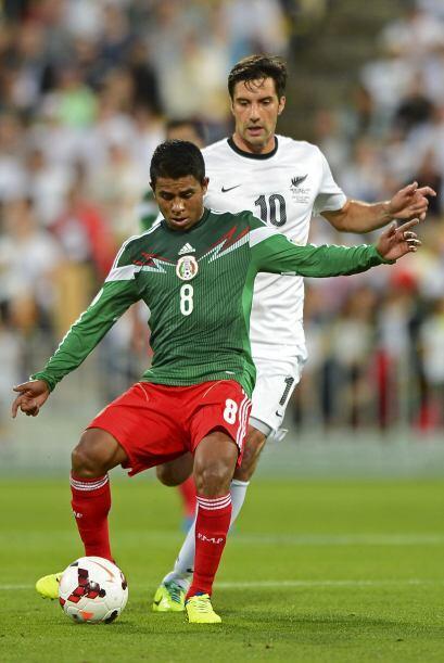 Juan Carlos Meidna: El 'Negro' jugó el 2013 como único medio de contenci...