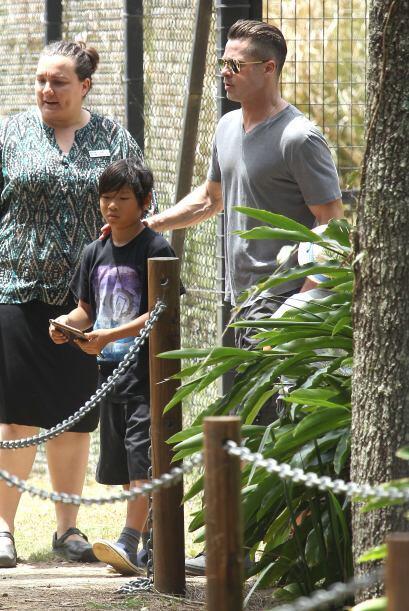 La pareja los llevó a un parque muy especial en Australia.  Mira aquí lo...