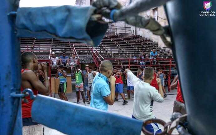 Gimnasio Rafael Trejo en la Habana Vieja, Cuba