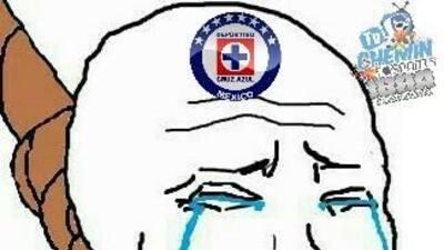 Cruz Azul lo vuelve hacer y los memes no lo perdonaron
