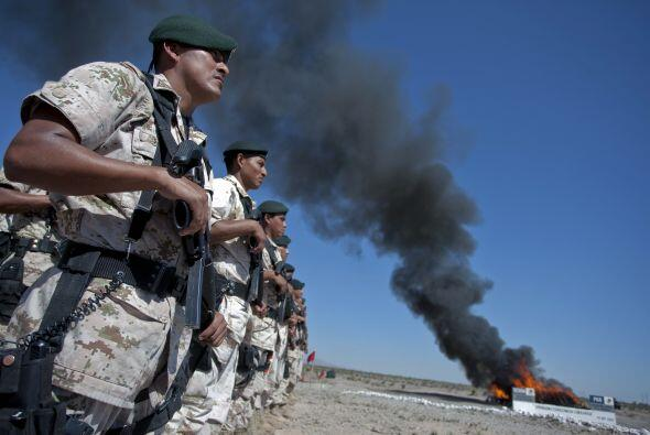 Actualmente Ciudad Juárez es vigilada por mas de 5 mil efectivos federal...