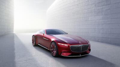 El Vision Mercedes-Maybach 6 Concept debuta en Monterey