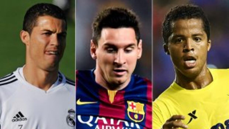 Cristiano, Messi y Giovani compiten por el mejor gol de la temporada pas...